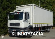 Ciężarówka Plandeka używana MAN TGM 18.280 viatoll euro 5 firanka 20 palet winda