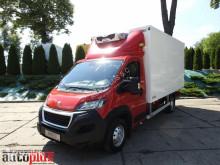 Peugeot hűtőkocsi teherautó BOXERKONTENER CHŁODNIA 0*C 8 PALET KLIMATYZACJA LEDY 165KM [ 72