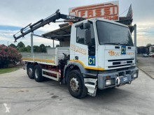 Camion Iveco Eurotech 190E27 plateau ridelles occasion