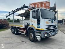 Camion plateau ridelles Iveco Eurotech 190E27