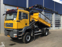 MAN TGA 18.350 truck used three-way side tipper