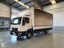 Camión lonas deslizantes (PLFD) usado MAN LE 10.180