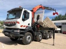 Used two-way side tipper truck Renault Kerax 370 DXI