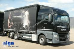 MAN 26.480 TGX LL 6x2, Getränke, LBW, Edscha, AHK truck used tarp