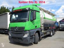 Mercedes por állományú anyagok szállítására alkalmas tartálykocsi teherautó Actros MB Actros neu 4 Kammern 31.000 ltr