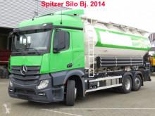 Mercedes por állományú anyagok szállítására alkalmas tartálykocsi teherautó Actros neu 2545 L 6x2 Silo 4 Kammern 31.000 ltr