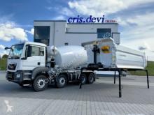 Kamyon beton transmikser / malaksör yeni MAN TGS 41.430 8x4 Mischer - Kipper Wechselsystem /