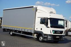 Camion Teloni scorrevoli (centinato) usato MAN TGL - / 12.250 / EURO 6 / ACC / FIRANKA / DŁ. 8,6 M