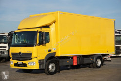 Camion isotherme occasion nc MERCEDES-BENZ - ATEGO / 1221 / E 6 / IZOTERMA + WINDA / 15 PALET