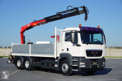Camion cassone MAN TGS - / 26.320 / SKRZYNIOWY + HDS / 6 X 4 / UAL