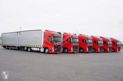 Camión remolque lonas deslizantes (PLFD) usado Volvo FH - / 500 / E 6 / ACC / ZESTAW PRZEJAZDOWY 120 M3 + remorque