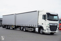 Camion DAF - 106 + remorque rideaux coulissants (plsc) occasion