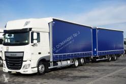 Camión DAF - 106 / 460 / SSC / EURO 6 / ZESTAW PRZEJAZDOWY 120 + remorque lonas deslizantes (PLFD) usado