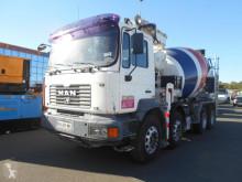 Camion MAN FE 360 béton malaxeur + pompe occasion