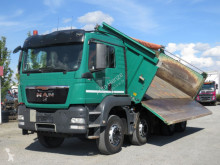 MAN three-way side tipper truck TGS TG-S 35.440 8x4 4-Achs Kipper Meiller Bordmatik