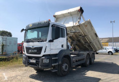 MAN TGS 33.460 truck used two-way side tipper