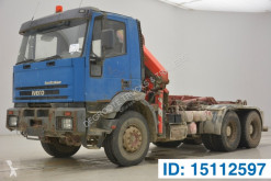 Camión Gancho portacontenedor Iveco Eurotrakker 260E34