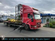 Camión caja abierta teleros Iveco Tector 120E24 Pritsche Standklima