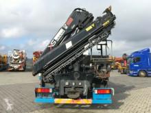 Palfinger Hiab 166-5 Absetzbar truck used flatbed