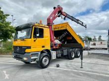 Камион самосвал втора употреба Mercedes Actros 2640 6x4 3 Seiten Kipper + KRAN HMF 2823
