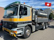 Maquinaria vial Mercedes kaiser kombi schlammsauger 2643 6x4 camión limpia fosas usado