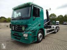 Камион мултилифт втора употреба Mercedes Actros 2541 GERGEN Abrollkipper 6x2 lenk-lift