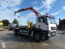 MAN hook arm system truck TGS 26.360