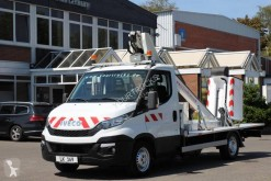 Iveco telescopic articulated aerial platform truck Daily Iveco Daily 35-130 Arbeitsbühne Klubb France Versalift LT130TB