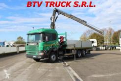 Camión Scania 94D 310 MOTRI 3 ASSI CASS FISSO CON GRU