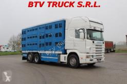 Camion Scania R 164-480 TRASPORTO ANIMALI VIVI BOVINI OVINI SUINI occasion