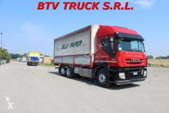 Camion Iveco Stralis STRALIS 360 CENTINA 3 ASSI 7,20 CM C/PEDANA occasion