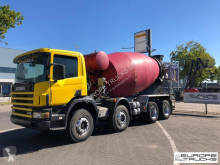 Scania P114 truck used concrete mixer