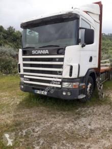 Ciężarówka Scania L 124L360 platforma standardowa używana