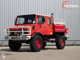 Camião bombeiros Mercedes unimog 1550 Unimog U1550 (437) Benz, Doppelkabine, SIDES CCF2000 ltr. - Expeditievoertuig, Camper