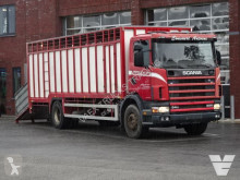 Camion bétaillère bovins occasion Scania 94G-220 1 Stock Livestock, Full Steel suspension