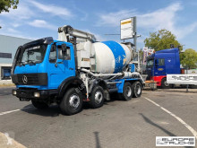 Camion béton malaxeur + pompe occasion Mercedes K 3528 Full steel - V8 - Schwing 21M Pumi