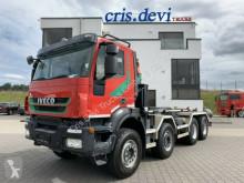 Camión multivolquete usado Iveco 340T45 Trakker 8x4 Eurolift Hakengerät | Euro 5