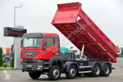 Camion benne occasion MAN TGA 41.480 /8X6 / 3 SIDED TIPPER /BORTMATIC