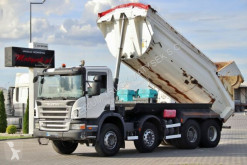 Camion Scania P 400 / 8X4 / TIPPER / LOAD: 17 900 KG / EURO 5/ benă second-hand