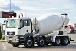 Ciężarówka betonomieszarka MAN TGS 32.400 /CEMENTMIXER / MANUAL /