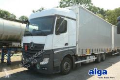 Lastbil med släp flexibla skjutbara sidoväggar Mercedes Actros 2645 L Actros 6x2, Jumbozug, Volumen, 115m³