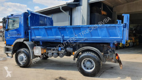 Mercedes Atego 1823 4x4 truck used three-way side tipper