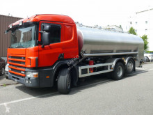 Camion citerne alimentaire Scania p124 gb 6x2