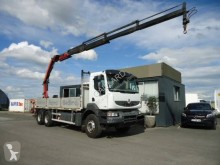 Camion Renault Kerax 430 DXI plateau ridelles occasion