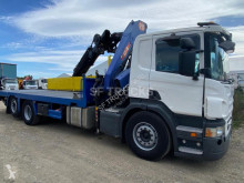Scania P 380 heavy equipment transport used