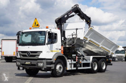 Camion nc MERCEDES-BENZ - AXOR / 2633 / E 5 / WYWROTKA + HDS / ROTATOR benne occasion