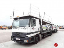 Mercedes car carrier trailer truck Actros 1843