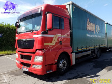 Camion rideaux coulissants (plsc) occasion MAN TGX