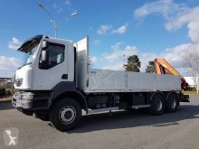 Camion plateau ridelles occasion Renault Kerax 370 DXI