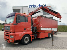 Camion MAN 18.350 LL 4x2 Hiab 166 E-5 XS Hipro | Euro 3 plateau occasion